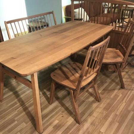 くるみの木・柿渋塗料を使った家具 『MINO』