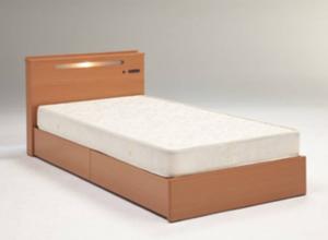 シングルベッド(マット付き)